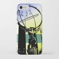 atlas iPhone & iPod Cases featuring Atlas by Amy Smith - ColorScape
