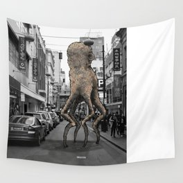 Unseen Monsters of Melbourne - Wabi Goons Milky Wall Tapestry