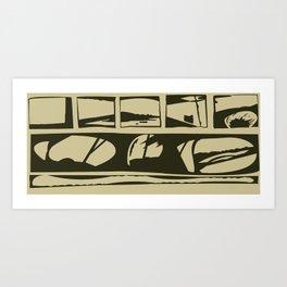 SanDiego Art Print