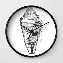 Vintage Cancer Hermit Wall Clock