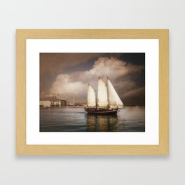 They've All Come To Look For America Framed Art Print
