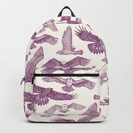 birds of prey purple Backpack