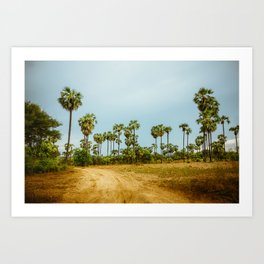 Burma's Country Roads I Art Print