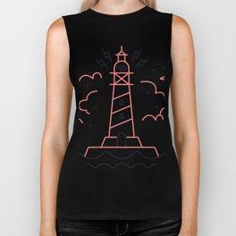 Lighthouse Biker Tank