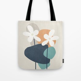 Abstract Flowers 3 Tote Bag
