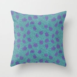Sully Fur Monsters Inc Inspired Throw Pillow