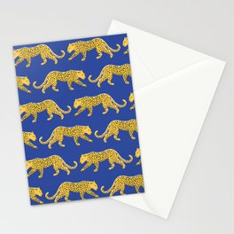 The New Animal Print - Blue Stationery Cards