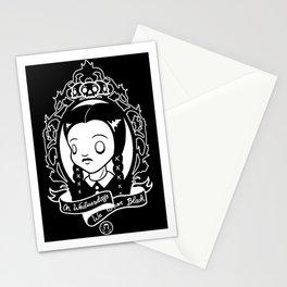 On Wednesdays We Wear Black Stationery Cards