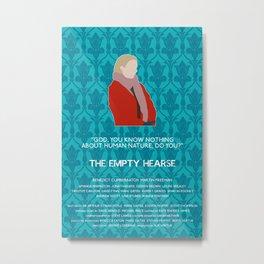 The Empty Hearse - Mary Morstan Metal Print