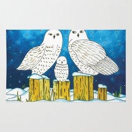 Noah's Ark - Snowy Owl Rug