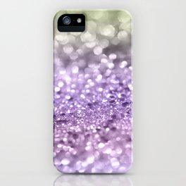 Purple Lavender Glitter #1 #shiny #decor #art #society6 iPhone Case