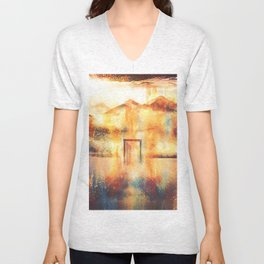 Open Door Unisex V-Neck