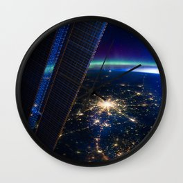Moscow, Russia from ISS-30 Wall Clock