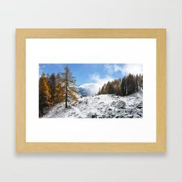 The Confluence Of The Seasons Framed Art Print