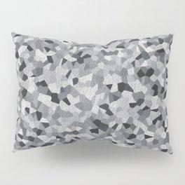 white irregular shape pattern Pillow Sham