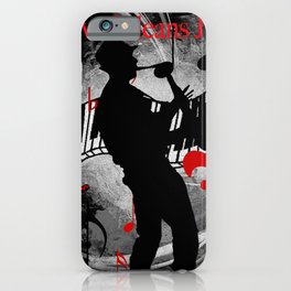 New Orleans Jazz Saxophone And Piano Music iPhone Case