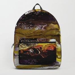 Unicorns, acrylic on canvas Backpack