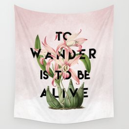 To Wander Wall Tapestry