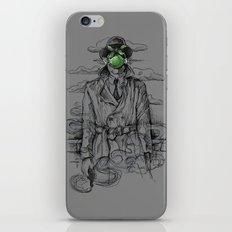 Magritte Noir iPhone & iPod Skin