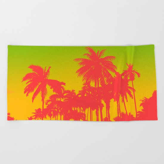 summer cool Beach Towel