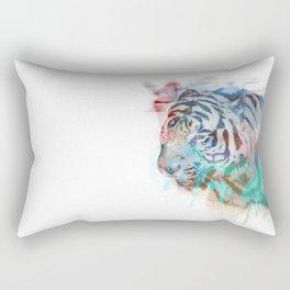 Spray Tiger Rectangular Pillow