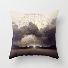 Beyond the Fog Lies Clarity | Dawn Throw Pillow