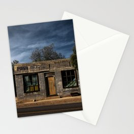 Abandoned Post Office in Kelso California Stationery Cards