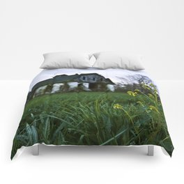 Dilapidated Farm and Mustard Seed Comforters