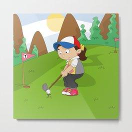 Non Olympic Sports: Golf Metal Print