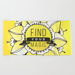 Find Your Magic Beach Towel