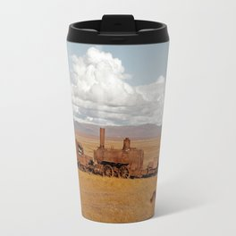 Train Going Nowhere Travel Mug