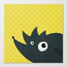 Cute Cartoon Hedgehog Canvas Print