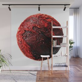 Abstract Planet v7 Wall Mural