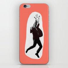 Giraffe in a Suit by Debbie Porter iPhone & iPod Skin