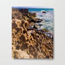 Tides of Cancún Metal Print