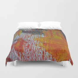 Abstract Paint Swipes Duvet Cover
