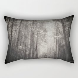 And Then I Was Alone Rectangular Pillow