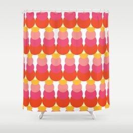 Retro Pattern VI Shower Curtain