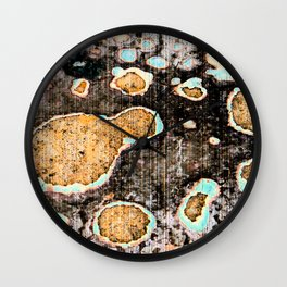 Chipped Wall Clock