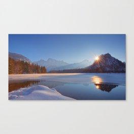 magic winter Canvas Print