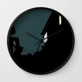 Midnight light Wall Clock