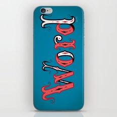 Word iPhone & iPod Skin