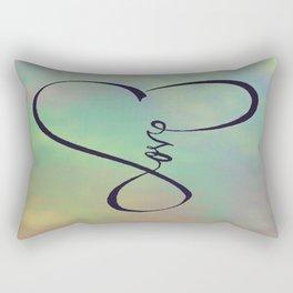Love in my heart Rectangular Pillow