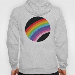 Circular Rainbow Hoody