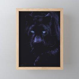 PANTHER Framed Mini Art Print