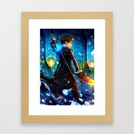 KIRITO - SWORD ART ONLINE Framed Art Print