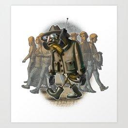 Carp spy. Art Print