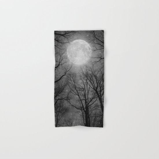 May It Be A Light (Dark Forest Moon) Hand & Bath Towel