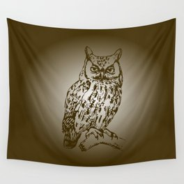 Great Owl Wall Tapestry