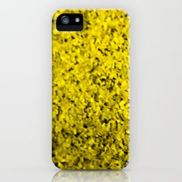 yellow cluster iPhone Case